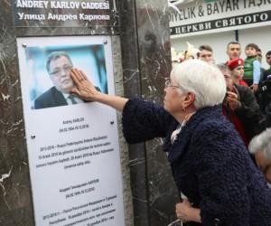 Suikast kurbanı Rus Büyükelçi Karlov'un ismi Antalya'da unutulmadı