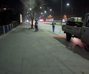 Sivas Belediyesi'nden ilaçlama seferberliği