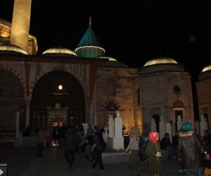 Konya'da Regaip Kandili coşkuyla idrak edildi