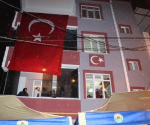 Şehit pilotun acı haberi Samsun'daki baba ocağına ulaştı