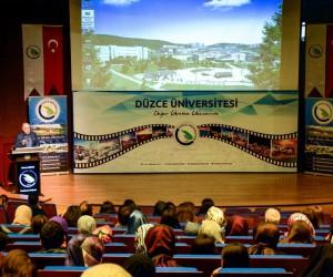 Düzce Üniversitesi Darülaceze başkanını ağırladı