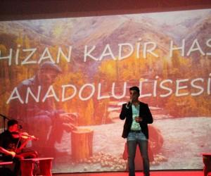 Hizan'da 'Bir Ses Bir Nefes' şiir dinletisi