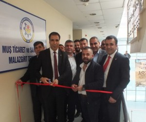 Muş TSO, Malazgirt'te temsilcilik açtı