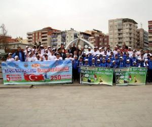 Siirtli öğrenciler Türkiye-İrlanda maçını izlemeye gitti
