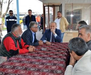 Başkan  Atabay'dan Şoförler Odasının Başkan Adaylarına nezaket ziyareti