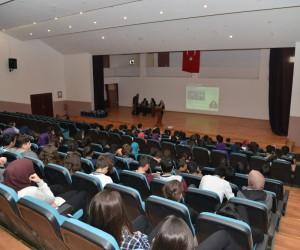 Büyükşehir'in çalışmaları öğrencilere anlatıldı