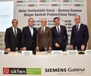 Akfen 1.6 milyar TL yatırımla 4 rüzgar projesine başlıyor