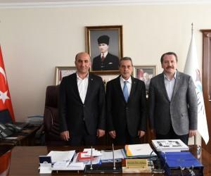 Memur-Sen Genel Başkanı Ali Yalçın Vali Kalkancı'yı ziyaret etti