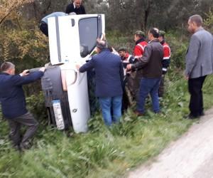 Bursa'da ölüm yolunda yine kaza: 1 yaralı