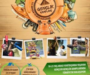 Yurt dışındaki Türk gençleri, Türkiye'de Gençlik Kampı'nda buluşuyor