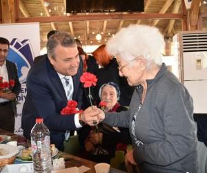 Başkan Çerçi, huzurevi sakinleriyle buluştu