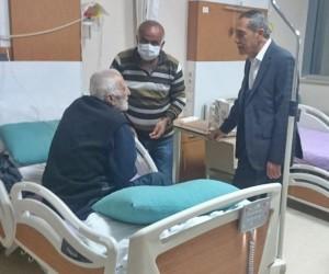 Başkan Özdemir hastaların kandilini kutladı