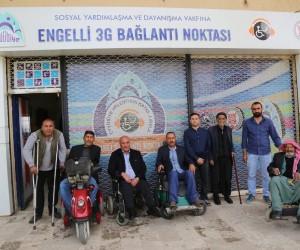 Yaşlı ve engellilere video konferanslı hizmet