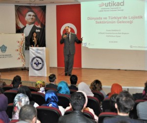 NEÜ'de Dünyada ve Türkiye'de Lojistik Sektörünün Geleceği konuşuldu