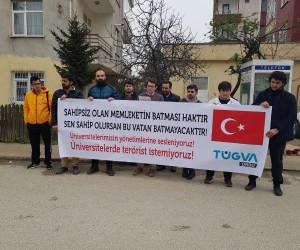TÜGVA'lı gençlerden üniversite öğrencilerine destek