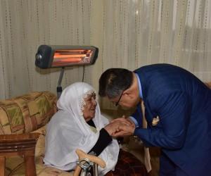 Başkan Yağcı'dan şehit ailesine ziyaret
