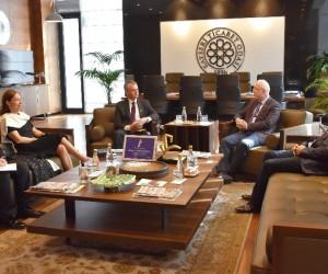 Kanada Büyükelçisi Başkan Hiçyılmaz'ı ziyaret etti
