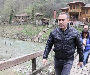 Haluk Levent'ten Yenice halkına 'HES'e Hayır' desteği