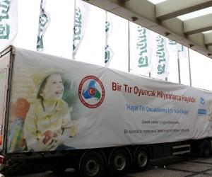 İstanbul Oyuncak Fuarı'ndan 1 tır hediye Anadolu'ya gönderildi