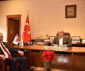 TÜBA Başkanı Acar,  Başkan Arslan'ı ziyaret etti