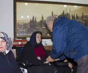 Milletvekili Karaburun'un babası son yolculuğuna uğrulandı