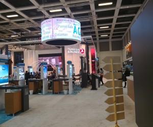 ITB Berlin Uluslararası Turizm Fuarı'nda Malatya Standına yoğun ilgi