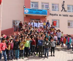 Mardin'de öğrenciler için sağlık taraması
