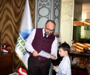 Kartepeli miniklerden Mehmetçiğe anlamlı destek