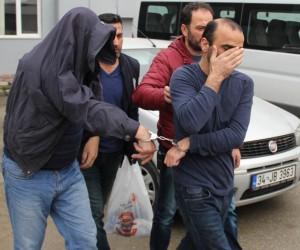 Kasa hırsızları tutuklandı