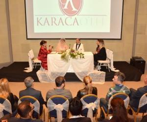 Karaca Kültür Merkezinde yeni nikah konsepti