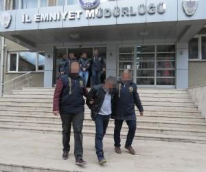 Uşak'ta hırsızlık yapan 20 kişi gözaltına alındı