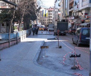 Fatsa'da baskı beton çalışmaları