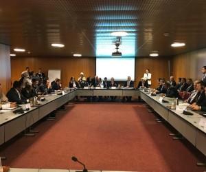 TBMM Başkanı İsmail Kahraman, Cenevre'de APA toplantısında konuştu