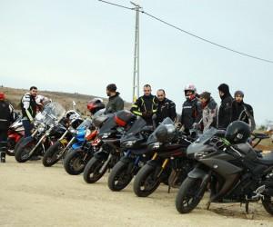 Motosikletçiler 'Zeytin Dalına destek için yola çıktı