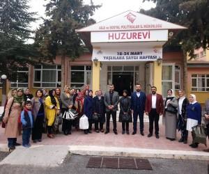 MHP'li Başkan, huzurevini ziyaret etti