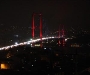 İstanbul karanlığa büründü