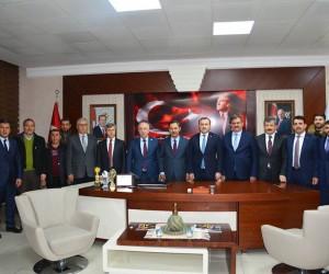 Bakan Osman Aşkın Bak'tan Ereğli Belediyesine ziyaret