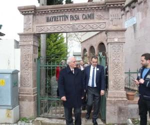 Tarihi Kentler Birliği üyeleri tarihi yapıları gezdi