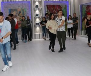 (Özel) -Türkiye dans şampiyonları Van'da şov yaptı