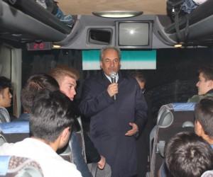 Akşehir'de Çanakkale gezisinin ikinci kafilesi de uğurlandı