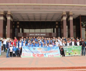 90 Siirtli öğrenci Antalya'yı keşfediyor