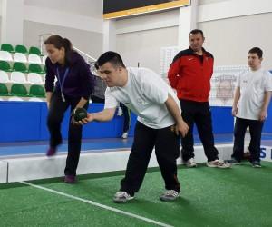 Engelli bireyler 'Bocce Turnuvası'nda yarıştı