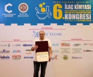 AGÜ Doktora Öğrencisine Araştırma Teşvik Ödülü