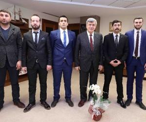 """Başkan Karaosmanoğlu: """"Yeni dünyanın yolu Türkiye'den geçecek"""""""