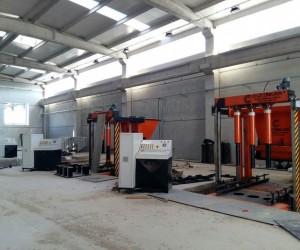 MASKİ'nin yeni fabrikasında makine montajlarına başlandı