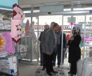 Van TSO adayı Kandaşoğlu'ndan esnafa ziyaret