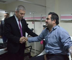 Bakan Demircan, Ordu Devlet Hastanesi'ni ziyaret etti