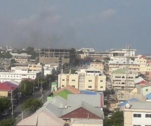 Somali'de parlamento yakınlarında patlama