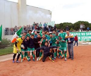 Salihli Belediyespor, 3 puanı 3 golle aldı