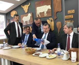 İlçe Başkanı Ahmet Gören söz aldı